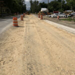 New Roadway Under Construction - NB Lane